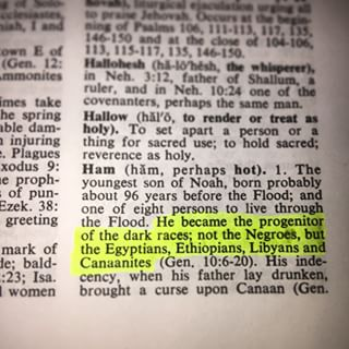 Zondervan's Bible Dictionary, definition of HAM