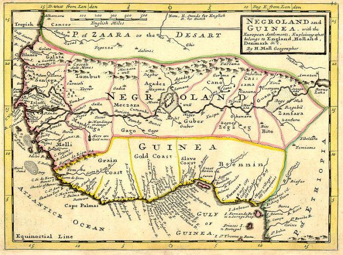 Negroland West Africa