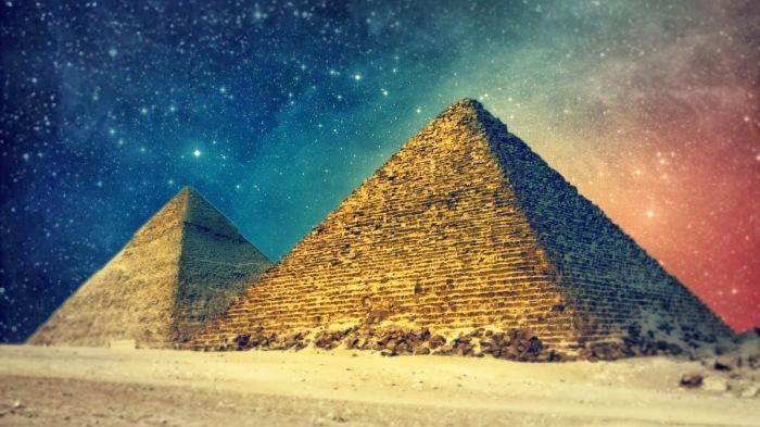 Egypt-Pyramids-Art