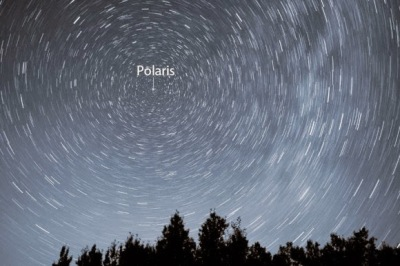 Polaris-star-trails