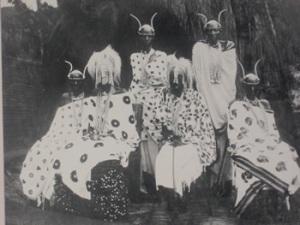 rwanda tutsi King Musinga's Royal Court
