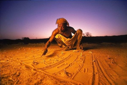 Sand divining