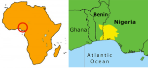 Niger-Congo area of the Yoruba
