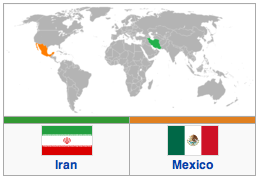 Iran and Mexico