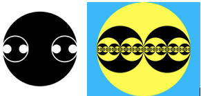 Japanese clan symbol reflect knowledge of recursion infinity