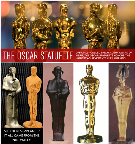 7 golden Idols like the Oscar Award