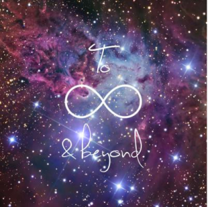 I AM is beyond infinity