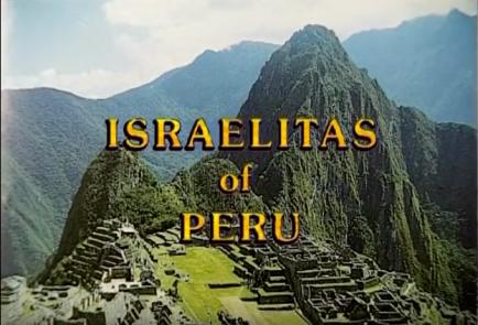 israelitas israelites of peru