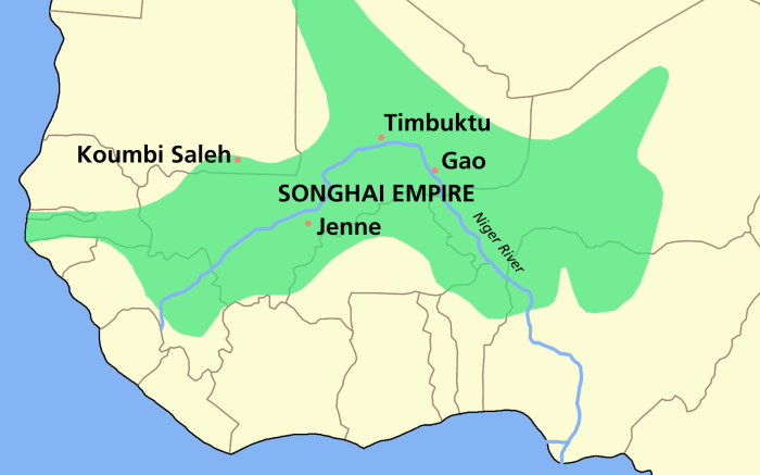 SONGHAI_empire_map