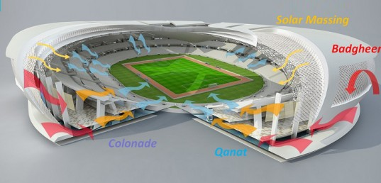 Tangram World Cup Stadium