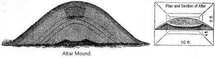 Altar mound