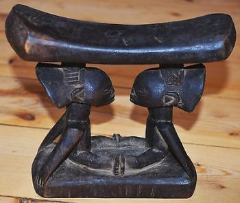 Old-Tribal-Luba-Hand-Carved-African-Wooden-Headrest-2
