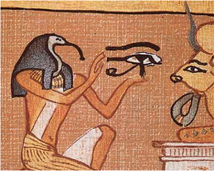 thoth offers 3rd eye to moloch