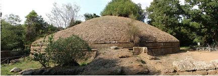 etruscan tumuli