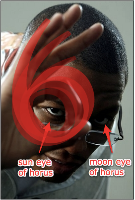 sun eye moon eye 3six hand