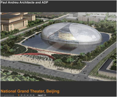 national grand theater beijing china