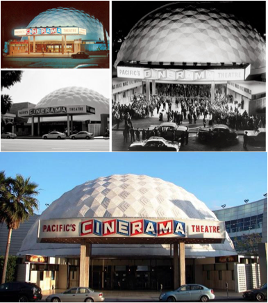 Pacific Theatre's Cinerama Dome in Hollywood, California