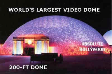 world largest video dome
