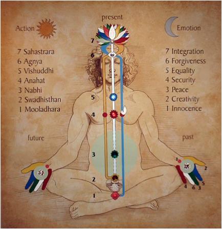 subtle body diagram eastern philosophy