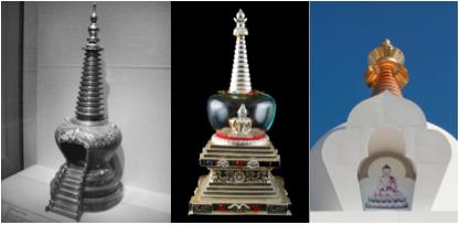 buddha stupa transcendence chamber