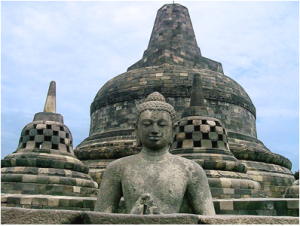 borobudur buddha stupa transcendence chambers