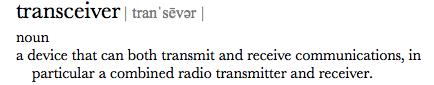 transceiver definition