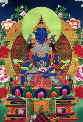 buddha conical stupa crown