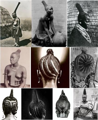 african hair antenna spire style