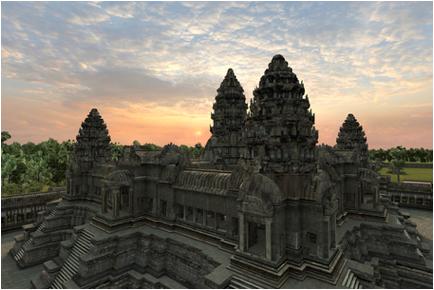 stupa temple alignment