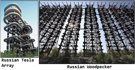 russian tesla array