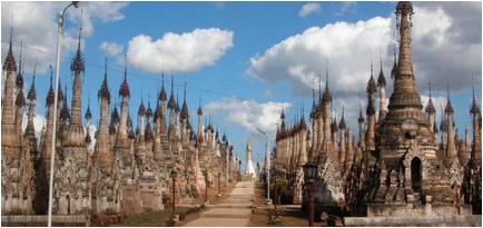temple antenna array