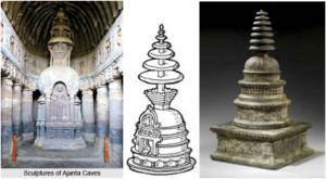 ajanta cave stupa