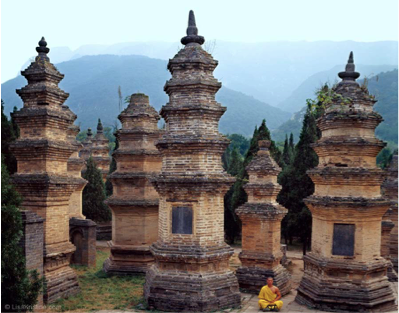 Pagoda Forest of Shaolin Temple, China