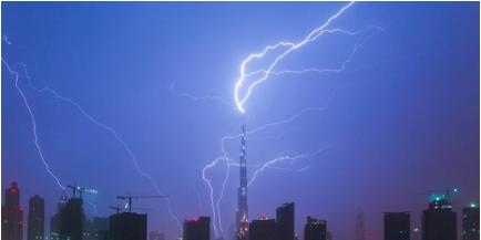 lightning rod antenna