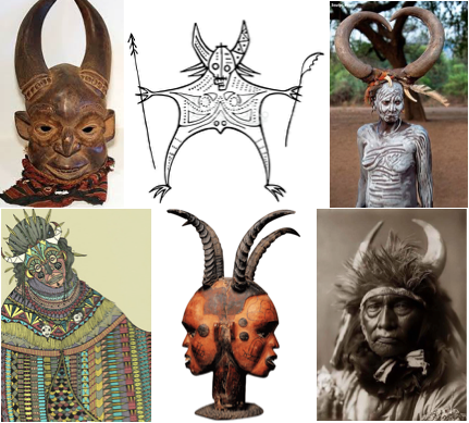 horned heads