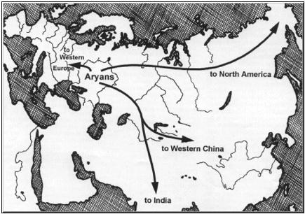 aryans maps
