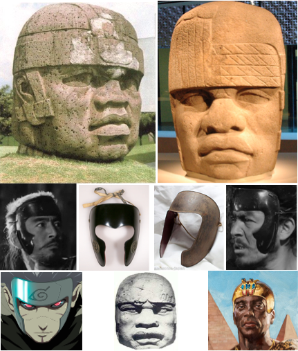 olmec headgear happuri