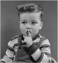 children silence