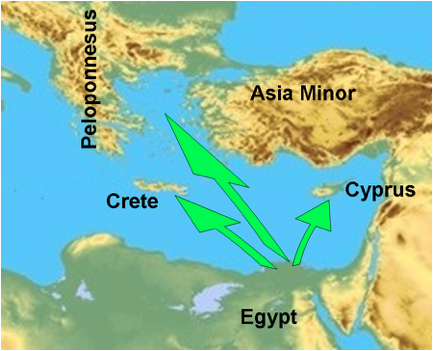 egypt to greece 2