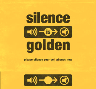 silence is golden 1