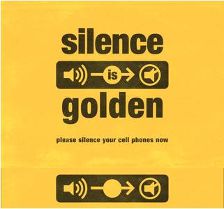 silence is golden 1