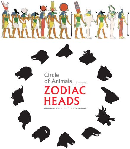 egyptian gods zodiac animals