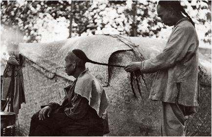 queue braided hair