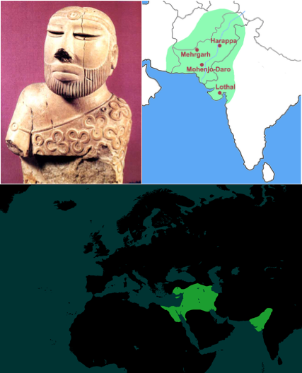 harappa egypt to india