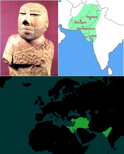 harappa egypt to india