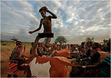 ethipian bull jumping ritual