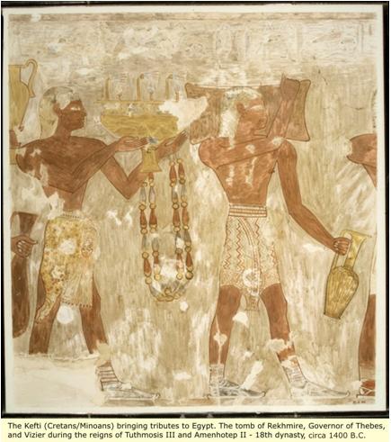 minoan cretan egypto-israelite 2