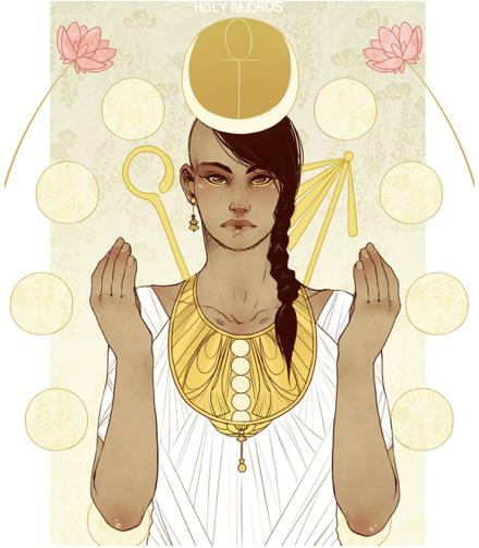 goddess avatar sidelock