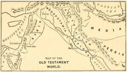 syria phoenicia israel overlap map