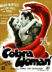 cobra woman poster